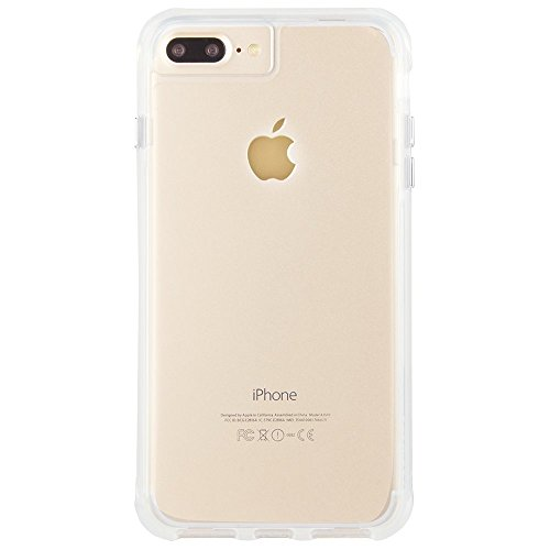 Case-Mate iPhone 8 Plus Case - TOUGH CLEAR - Rugged - 10 ft Drop Protection - Slim Protective Design for Apple iPhone 8 Plus - Clear