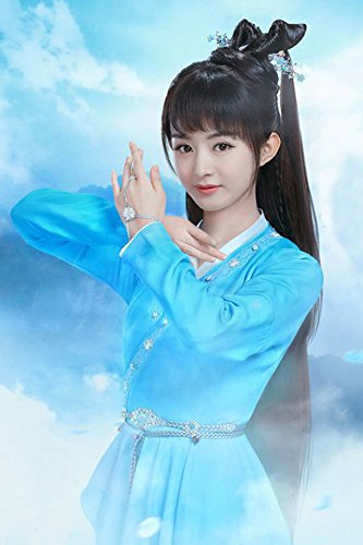 Zhao Yun Costume (Generic Zhu Xian Yun Zhi Zhao Liying same paragraph Baguio sad flower bracelet ring one bracelet costume jewelry CS)