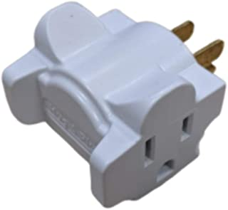 product image for Hug-A-Plug Dual Outlet Wall Adapter, 6 Pack White