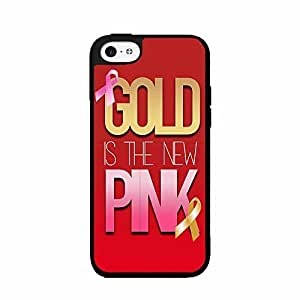 Gold Is the New Pink 2-Piece Dual Layer Phone Case Back Cover iPhone 5 5s