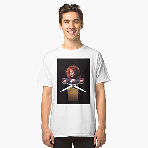 Chuckys Bride Clown Shirt Childs Play Classic Horror Story for Men Killer Movie Halloween 2019]()