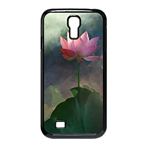 Cool PaintingFashion Cell phone case Of Water Lily Bumper Plastic Hard Case For Samsung Galaxy S4 i9500