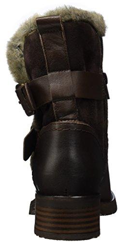 Buffalo Damen Es 30963 Sauvage Nevada Biker Boots Braun (torrone 01)