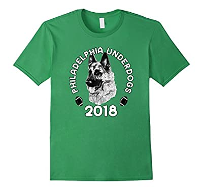 Philadelphia Underdogs 2018 Funny T-Shirt