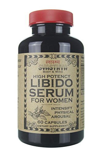 Svasthya High Potency Libido Serum for Women, All Natural Sexual Enhancement, Increase Energy and Boost Libido