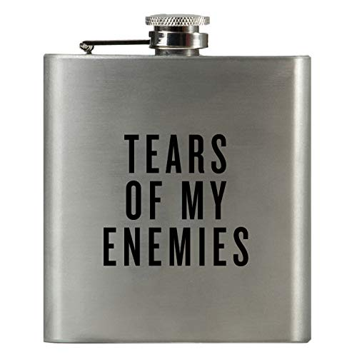 Best Man Hip Flasks - TEARS OF MY ENEMIES | Damn