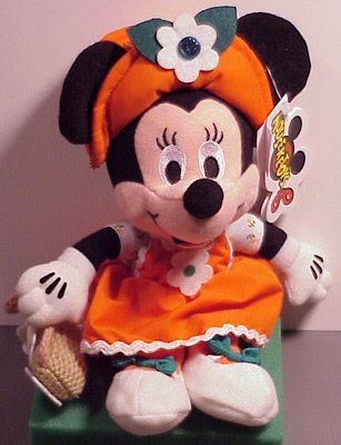 Disney Bean Bag Plush Minnie Mouse May Birthstone - Bean Bag Plush Minnie Mouse