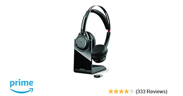 Plantronics Voyager Focus UC Bluetooth USB B825 202652-01 Headset with  Active Noise Cancelling