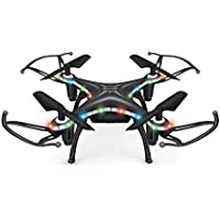 RC Quadcopter,X13D Drone 2.4GHz 4CH Led Mini Remote RC Quadcopter 3D Rollover Christmas Gift By Dacawin (Black)