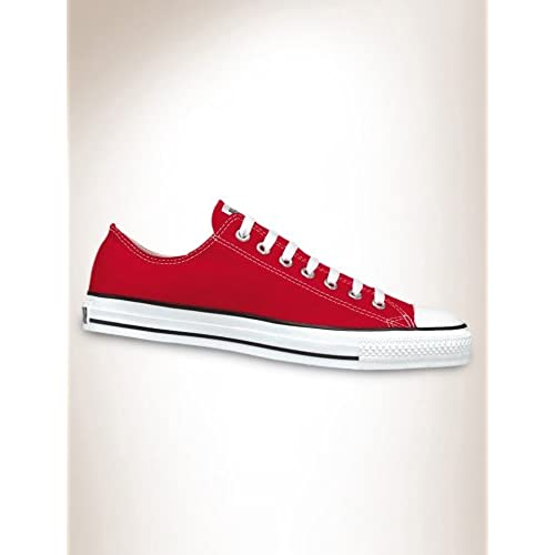 Converse All-Star Chuck Taylor Lo-Top Sneakers (13 M US Mens, Red)