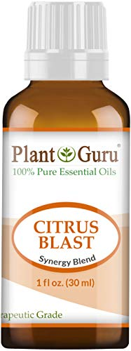 Citrus Blast Essential Oil Blend 1 oz / 30 ml 100% Pure, Undiluted, Therapeutic Grade. Relaxation, Boost Mood, Uplifting, Calming, Anxiety, Depression, Stress Aromatherapy, Diffuser.