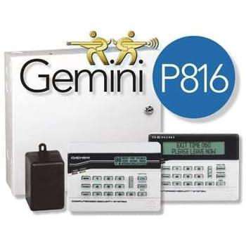 Amazon.com: GEM-P9600 NAPCO 8/96 Zone Control Panel: Home ...