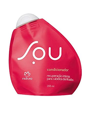Amazon.com : Linha Sou Natura - Condicionador Recuperacao Intensa 200 Ml - (Natura Sou Collection - Intense Recovery Conditioner 6.76 Fl Oz) : Beauty