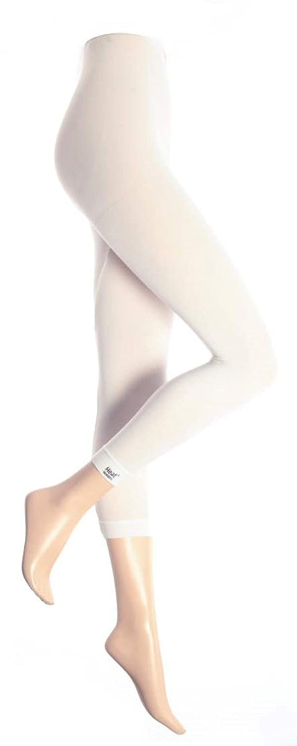 "Heat Holders Women's Thermal Long Johns Janes White 44-52"" hip L/XL"
