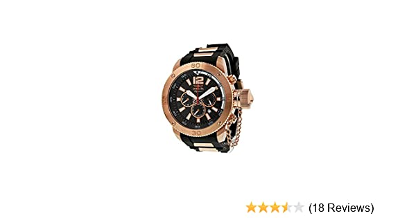 6ea0a361d38 Amazon.com  Invicta Signature II Russian Diver Chronograph Black Dial Mens  Watch 7428  Invicta  Watches