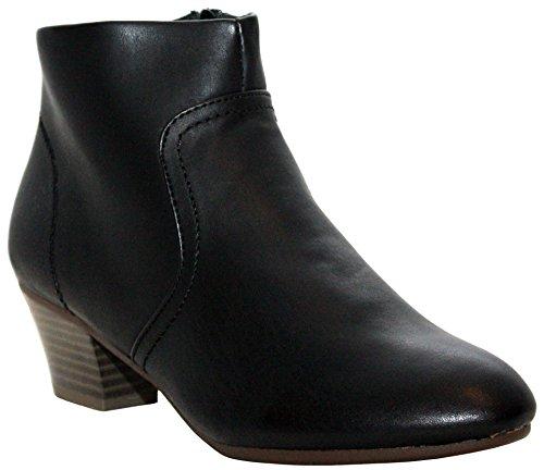A&H Footwear  Mary/rebecca,  Mädchen Damen Chelsea Boots Black/Sasha