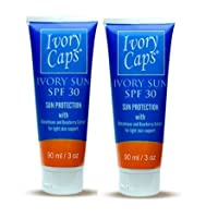 (Pack of 2) new Ivory Sun SPF 30 Sun Protection with Light Skin Support Elements