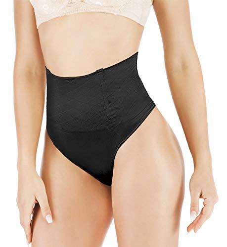 Jenbou Thong Shapewear Tummy Control Panties Body Shaper for Women Butt Lifter Waist Trainer Seamless Slimmer Panty