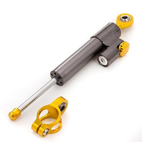 Motorcycle Adjustable Steering Damper Stabilizer Safety Control For Suzuki GSXR600 GSX-R 600 2001-2010, GSXR750 GSX-R 750 GSR750 2001-2005, GSXR1000 GSX-R 1000 2001-2015, GSXR1300 HAYABUSA - Gsxr750 Suzuki Stabilizer