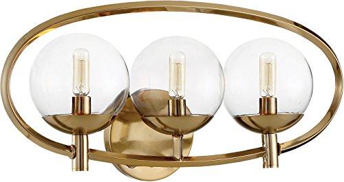 Craftmade 45503-SB Three Light Vanity