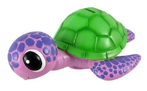 Purple / Green Sea Turtle Piggy Bank Coin Money by Private Label - Money Turtle