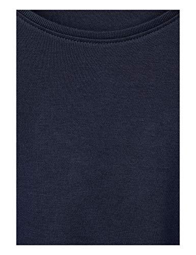 Para Blue 10128 Mujer Camiseta deep Larga De Manga Cecil Blau qxIwnzZ8wS