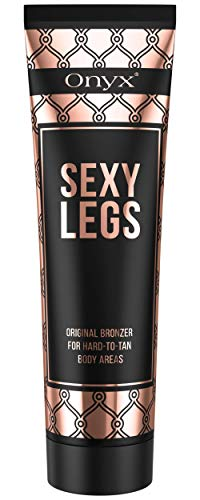 Onyx Bronzing Tanning Lotion Sexy Legs – Tan Enhancing Bronzers For Perfectly Tanned Legs