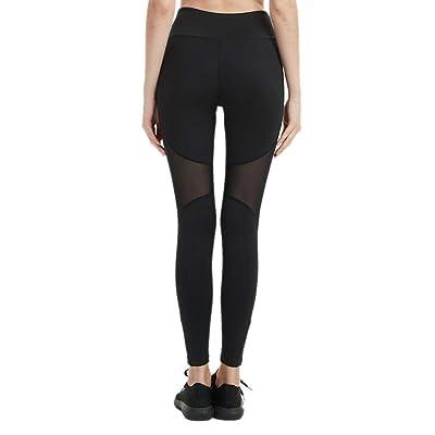 Lchengjin Pour Femme De Pantalon Yoga CousuesRunning DeMailles IbymfYv67g