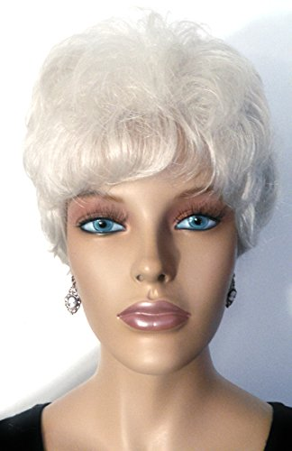 BRENDA Volumized Waves Wig by Mona Lisa - Gray - 60 Silver White