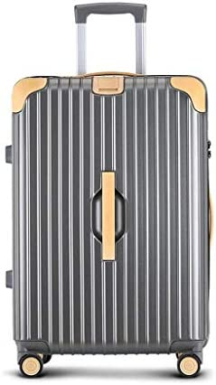 BXDYA 荷物、20インチABS トラベルバッグ、スピナーホイールと軽量トロリースーツケースに拡張可能なキャリー (Color : D)