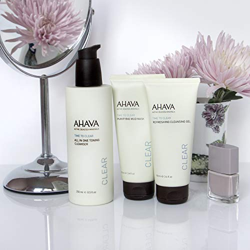 AHAVA All-In-One Toning Cleanser, 8.5 Fl Oz