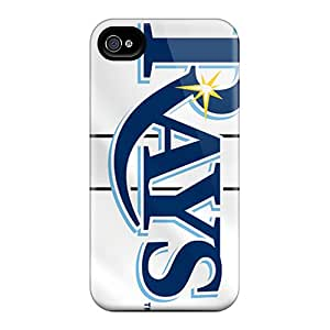Scratch Resistant Cell-phone Hard Cover For Iphone 6 (WAU5949ExVq) Provide Private Custom Colorful Tampa Bay Rays Image