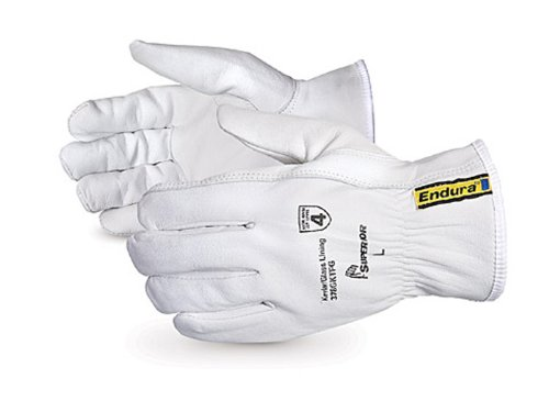 Superior 378GKTFG Grain Goatskin Leather Drivers Glove with Keystone Thumb and Kevlar/Glass Lined, Large (Pack of 1 Pair) by Superior Glove Works B00BHLUEBQ