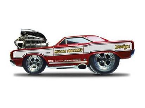 1968 Dodge Dart Super Stock Hemi Red Muscle Machines 1/18 by Maisto 32216 by Maisto