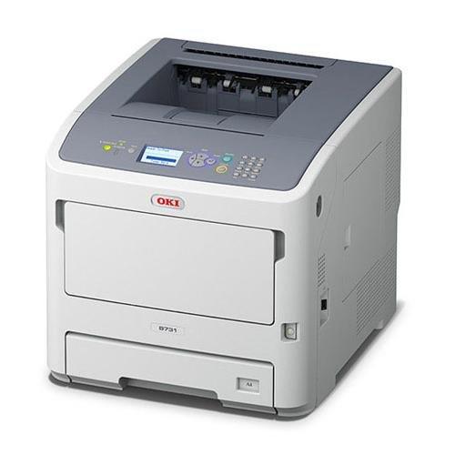UPC 051851165004, Oki Data B731dn Digital Mono Printer (55ppm), 1 20V, (E/F/P/S)