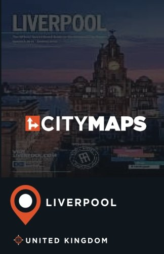 City Maps Liverpool United Kingdom