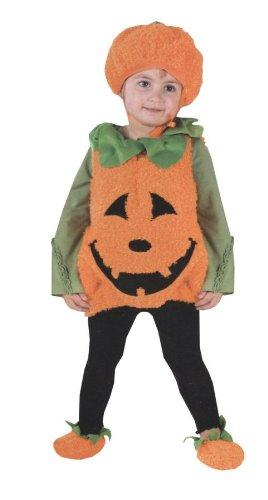 Pumpkin Pie Halloween Costume (Pumpkin Cutie Pie Vest Toddler Costume - Toddler Small)