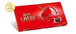 Ferrero Mon Cheri Likör Pralinen 157g (Brandy Choco W/cherries 5.58 Oz)