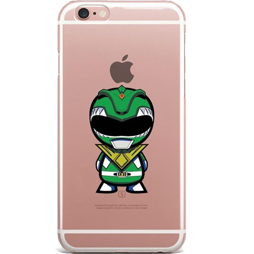 Rangers Power Case - Power Rangers Clear Jelly Case for Apple iPhone 6/6s (4.7