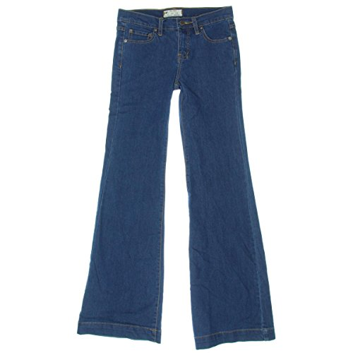 Free People Womens Denim Flare Flare Jeans Blue 27 - Flare Dark Wash