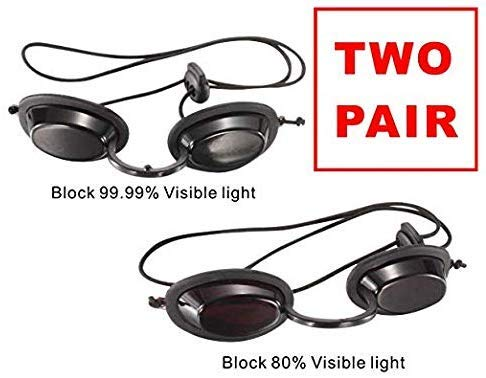 Dermapeel safety goggles Medical Light Patient Protective Light Protective-1pcs