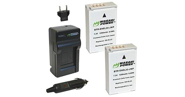 USB cargador rápido para Nikon Coolpix a Nikon 1 aw1 Nikon 1 j4