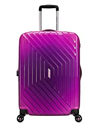 American Tourister Air Force 1 24-Inch Spinner Medium Expandable, Gradient Pink, Checked – Medium