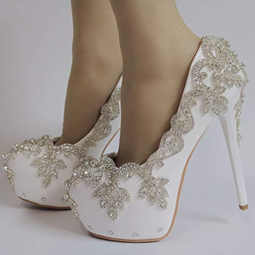 Sfsyddy Forme Talons 14cm Seul Chaussures Et Confortable des Bande À Mot Populaires Les Haut Forty Plate Chic Un rnzqArY
