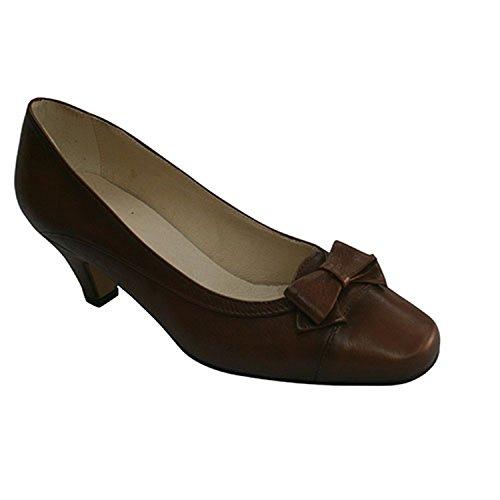 Lazo Empeine Tacón Pomares Con Marrón En Medio Vazquez Zapatos El 7YtwZqdW