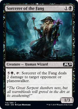 Magic: The Gathering - Sorcerer of The Fang - Core Set 2020