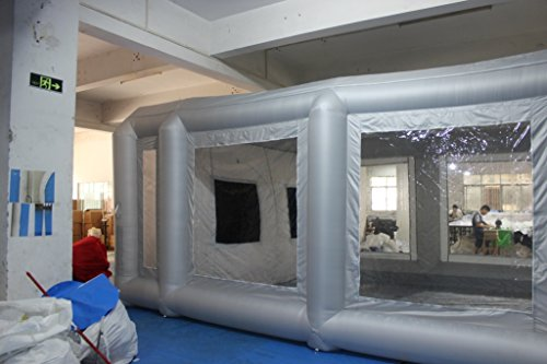 SELF Inflatable Spray Paint Booth with Filter System Portable Car Paint Booth