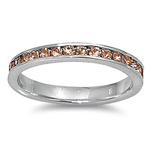 Band Morganite Ring - 3