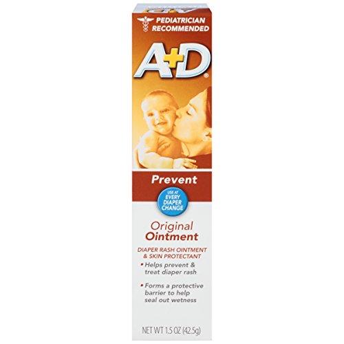 A & D Diaper Rash Ointment & Skin Protectant, Original -1.5 ounces