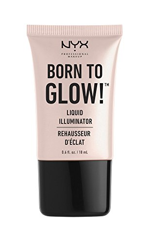 NYX Professional Makeup Born to Glow Liquid Illuminator, Sun
